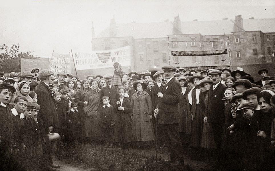 kilibirnue women fishing a1net strike nfwww ayr scotland 1913