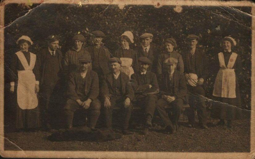 Redheugh staff 1915